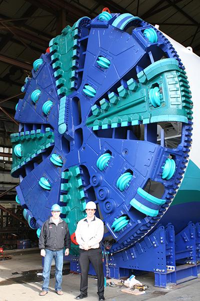 Tunnel Boring Machine SmALL