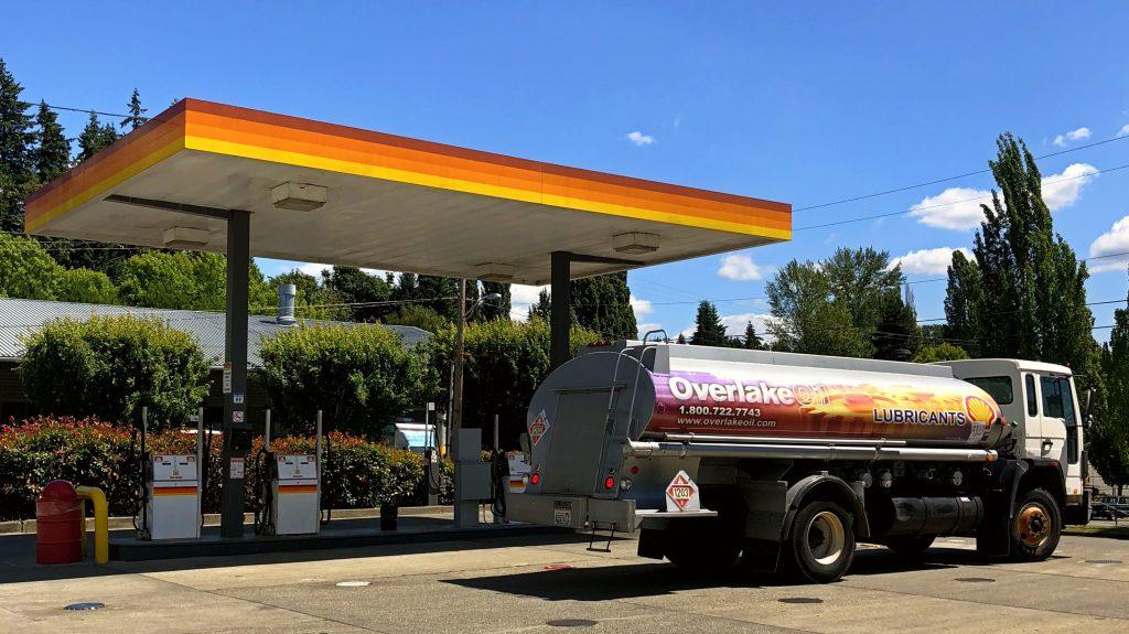 Overlake Oil Truck